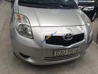 Cần bán xe Toyota Yaris 1.3AT đời 2008 đăng ký 2009, màu bạc, nhập khẩu nguyên chiếc