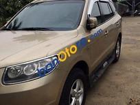 Cần bán xe Hyundai Santa Fe đời 2007, màu vàng, giá 545tr