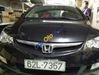 Cần bán Honda Civic đời 2008, màu đen