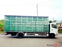 Bán xe Hino chở Gà, Vịt lồng FC9JLSW tặng 100% phí trước bạ