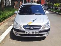 Bán xe Hyundai Getz MT đời 2010, màu bạc, nhập khẩu nguyên chiếc số sàn giá cạnh tranh