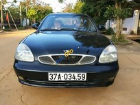 Bán ô tô Daewoo Nubira II sản xuất 2002, màu đen xe gia đình