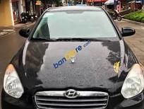 Cần bán gấp Hyundai Verna LT 1.4MT đời 2008, màu đen, nhập khẩu nguyên chiếc số sàn