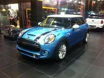 Bán xe Mini Cooper màu xanh ngọc, giao xe ngay, bảo hành toàn quốc