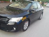 Cần bán xe Toyota Corolla altis MT đời 2013, màu đen