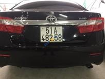 Cần bán Toyota Camry đời 2013, màu đen, giá 980tr
