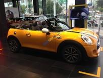 Bán xe Mini Cooper mui trần màu vàng 2016, nhập chính hãng, bảo hành toàn quốc