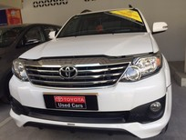 Bán ô tô Toyota Fortuner Sportivo 1 cầu 2015, màu trắng