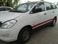 công ty thanh lý xe Innova J màu trắng sx 2008. lh chị Ngân 0918073170