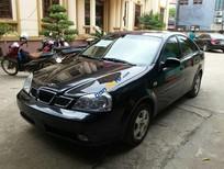 Bán xe cũ Daewoo Lacetti EX năm 2007, màu đen chính chủ