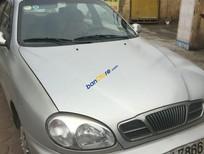 Bán Daewoo Lanos SX sản xuất 2002, màu bạc
