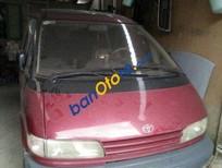 Cần bán xe cũ Toyota Previa 1991, màu đỏ chính chủ
