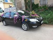 Cần bán Toyota Corolla altis 1.8 đời 2008, màu đen số sàn