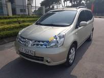 Bán ô tô Nissan Grand Livina 1.8 AT đời 2012, màu vàng