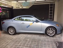 Chính chủ bán Lexus IS 250C đời 2010, màu bạc, nhập khẩu