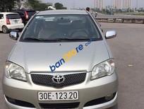 Cần bán Toyota Vios 1.5 G đời 2006, màu vàng