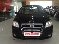 Bán ô tô Daewoo Gentra đời 2009, màu đen