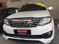 Cần bán xe Toyota Fortuner Sportivo 1 cầu 2015, màu trắng