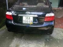 Xe Toyota Vios đời 2006, màu đen