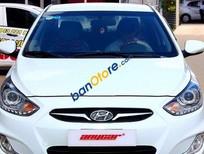 Xe Hyundai Accent 1.4MT 2011, màu trắng số sàn, giá 455tr
