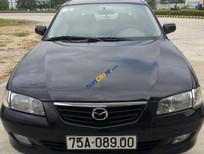 Bán Mazda 626 đời 2003, màu đen, xe đẹp