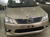 Auto Mai Long, bán xe Innova G đời 2014, số tự động, màu vàng cát, giá chỉ 710 triệu