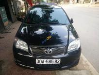 Bán xe cũ Toyota Vios G đời 2006, màu đen, giá chỉ 265 triệu