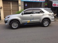 Bán xe cũ Toyota Fortuner năm 2013, màu bạc số tự động