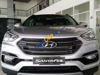 Cần bán Hyundai Santa Fe 4WD sản xuất 2016, màu trắng