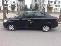 Bán xe Daewoo Gentra 1.5 MT đời 2010, màu đen chính chủ