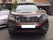 Xe Nissan Navara np300 2015, màu nâu, máy dầu số sàn 2 cầu