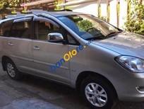 Bán Toyota Innova MT đời 2008, màu bạc số sàn, giá 515tr
