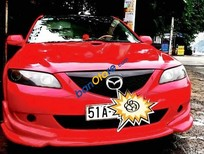Bán Mazda 6 2.0MT sản xuất 2004, màu đỏ, nhập khẩu chính hãng chính chủ, 345tr