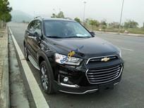 Cần bán Chevrolet Captiva sản xuất 2015, màu đen, giá 879tr