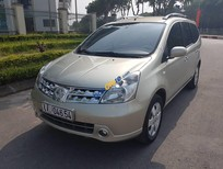 Bán ô tô Nissan Grand Livina 1.8 AT năm 2012, màu vàng