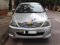 Bán ô tô Toyota Innova 2.0G đời 2009, màu bạc ít sử dụng, 455tr