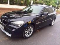 Bán BMW X1 2.0AT đời 2011, màu đen, nhập khẩu nguyên chiếc chính chủ