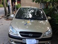 Bán Hyundai Getz đời 2009, màu vàng cát, nhập khẩu chính hãng, 295 triệu