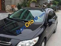 Bán Toyota Corolla altis MT đời 2008, màu đen số sàn