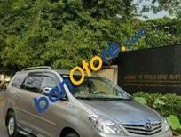 Bán Toyota Innova MT sản xuất 2010, màu vàng đã đi 75000 km, 599 triệu