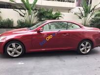 Cần bán lại xe Lexus IS 250C đời 2010, màu đỏ, xe nhập