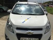 Gia đình cần bán xe Chevrolet Spark đời 2013, màu trắng xe gia đình, 310tr