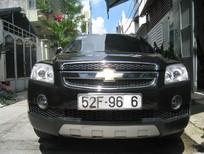 Bán xe Chevrolet Captiva LT đời 2008, màu đen, 422 triệu