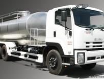 Xi téc Isuzu  chở sữa FVM34W 12 m3 giá rẻ, xe có sẵn, giao ngay