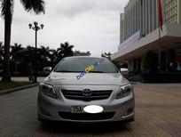 Bán Toyota Corolla Altis 1.8G sản xuất 2009, màu bạc, công chức sử dụng kĩ còn rất mới
