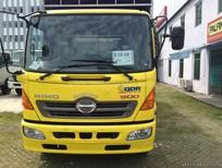 Xe tải Hino FC9JLSW thùng mui bạt 5,2 tấn 2016