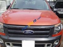 Cần bán gấp Ford Ranger Wildtrak đời 2014, màu đỏ, 700 triệu