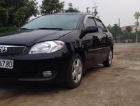 Bán ô tô Toyota Vios 1.5G 2006, màu đen, giá chỉ 260 triệu