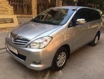 Cần bán gấp Toyota Innova 2.0 G 2009, màu bạc Chính Chủ Mầu Bạc