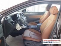 xe Hyundai Sonata 2.0L AT 2016, màu xám, xe nhập
